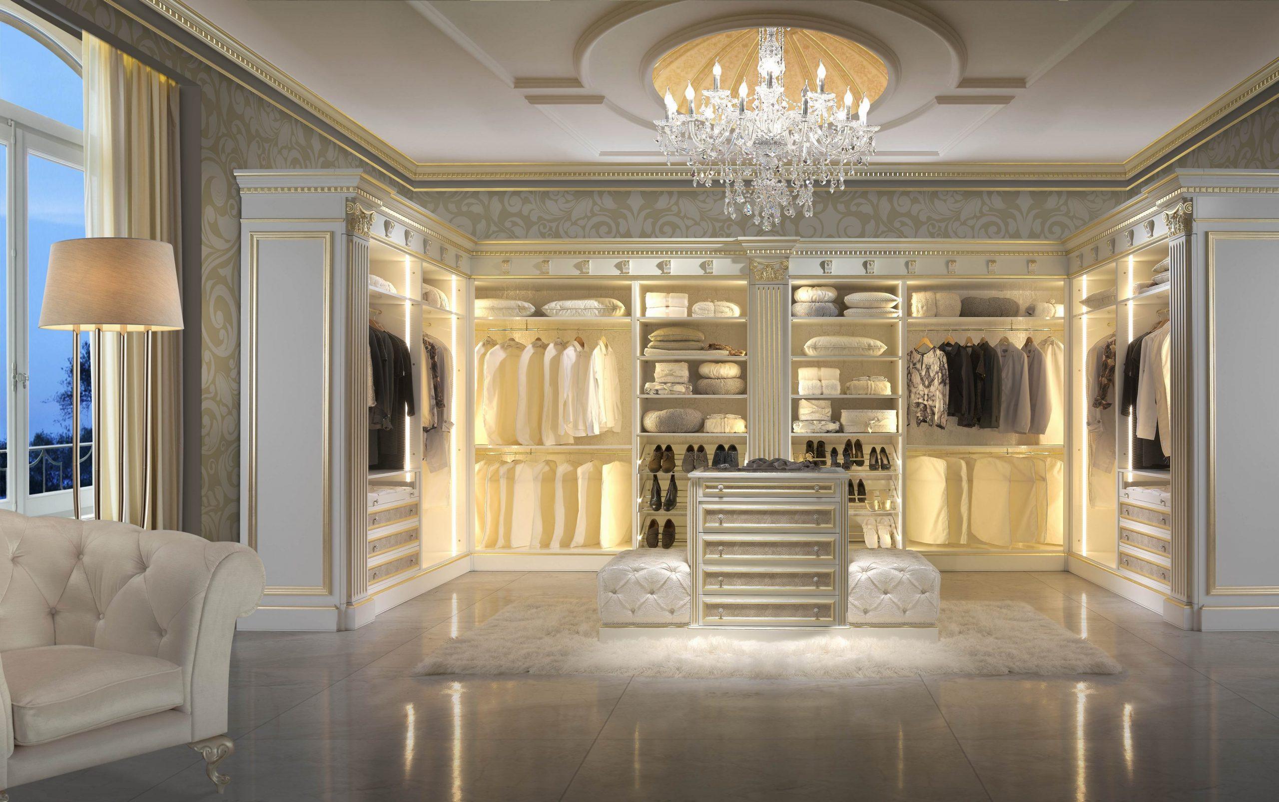 10 vestidores de lujo