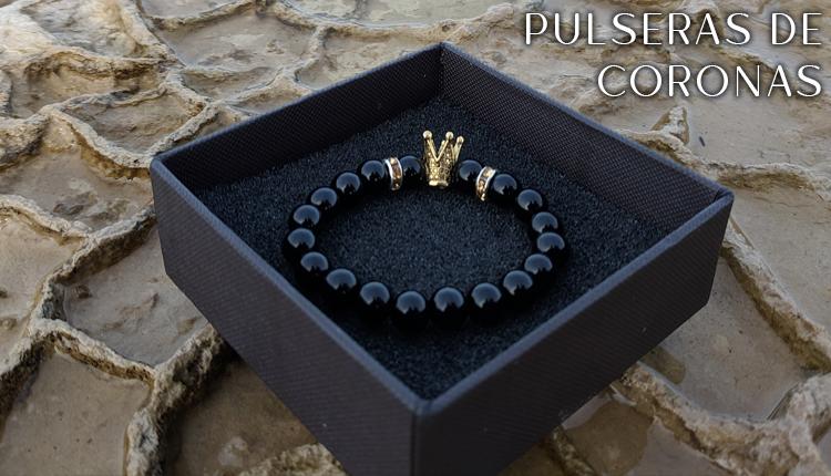 Pulseras de Coronas Elegantes