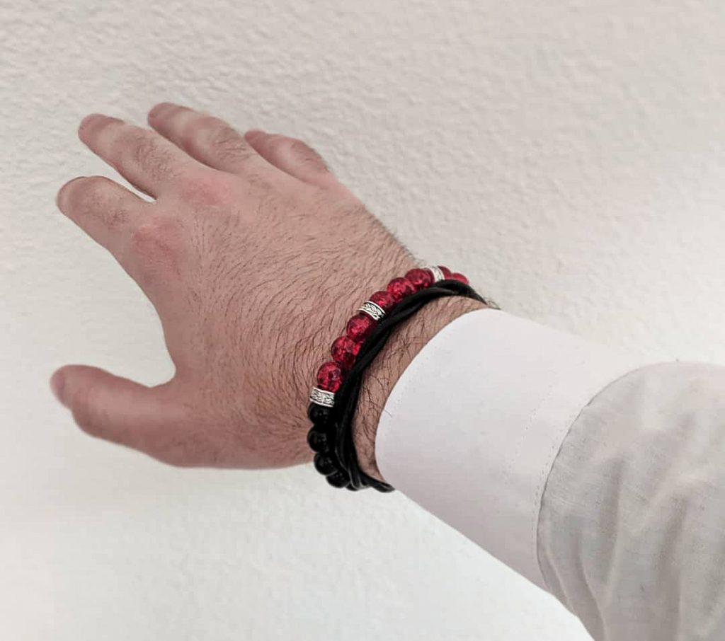 pulsera-griega-roja