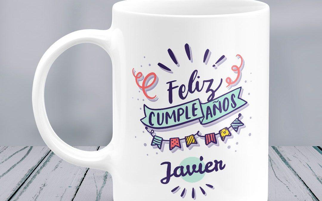 Tazas personalizadas de cumpleaños